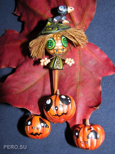 Пугало на Хэллоуин