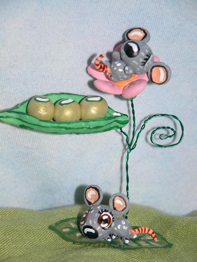 Мыши и мышиный горошек