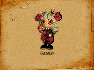 Вампир с яблоком