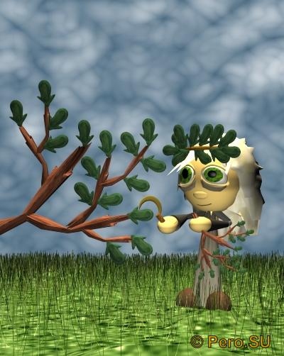 Ветви дуба