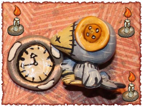 Птенец и остановившиеся часы