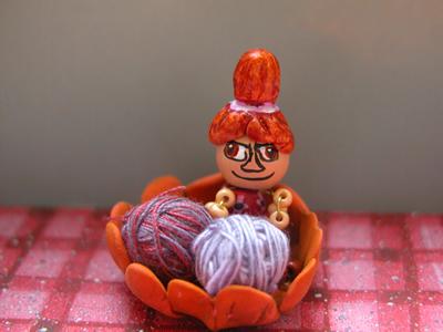 Мю в вязанье