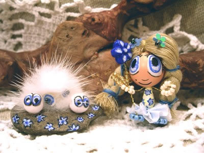 Blua floro